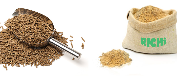 Comparison of pellet and concentrate feed