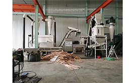 Wood Pellet Production Line in Taiwan