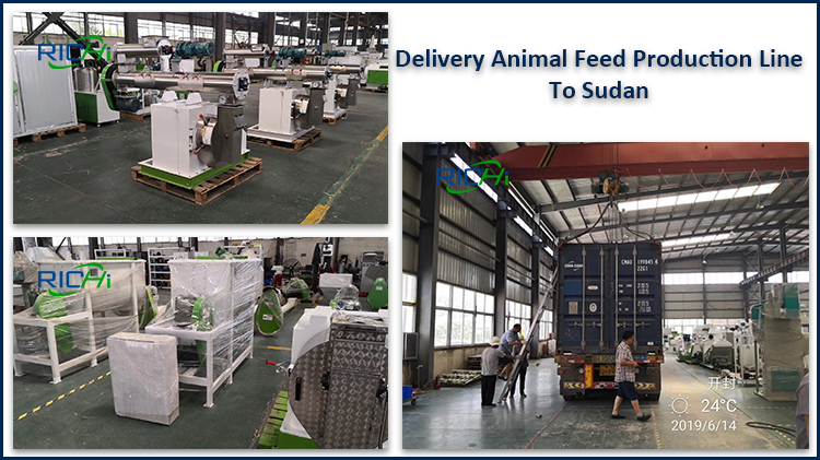 animal feed pellet production line to sudan